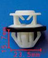 Крепежное изделие 11798 - Кузов (Пороги), A000-991-73-98 (A0009917398), 000-991-73-98 (0009917398)