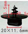 Крепежное изделие 11854 Коврики, 3D0864200A71N, 3D0864287A, 3D0864851B41, 3D0-864-200-A71N (3D0-864-200A71N; 3D0864200A71N), 3D0-864-287-A (3D0-864-287A; 3D0864287A), 3D0-864-851-B41 (3D0-864-851B41; 3D0864851B41), 3D0864851