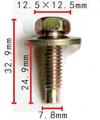 Крепежное изделие 12212 - 384931-S36 (384931S36)
