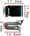 Крепежное изделие 12223 - Радиатор, 8L0807180, 8L0-807-180 (8L0807180)