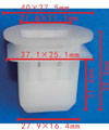 Крепежное изделие 23073 - Внутренняя отделка (Сиденья), 72693-12080