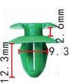 Крепежное изделие 23174 - Внутренняя отделка (Двери), Внутренняя отделка (Панель приборов), 51-41-1-870-718 (51411870718), 51411870718