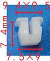 Крепежное изделие 23184 - Внутренняя отделка, Кузов (Боковины), Подкапотное пространство, N90541001, N905-410-01 (N90541001)