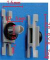 Крепежное изделие 23246 - Стёкла, Кузов (Уплотнители), 51-13-7-117-240 (51137117240)
