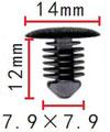 Крепежное изделие 23327 - Внутренняя отделка (Багажный отсек), Внутренняя отделка (Сиденья), A000-991-28-95 (A0009912895), 2344879, 90152926