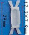 Крепежное изделие 11789 - Кузов (двери), Кузов (молдинги), Кузов (уплотнители), Стёкла, 7078732, 7078732, 7078732, 7701408860