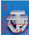 Крепежное изделие 23050 - Кузов (Крылья), 87758-35010 (8775835010)
